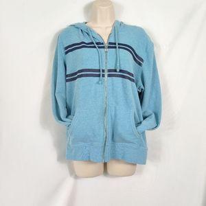 Victoria Secret hoodie angel blue L